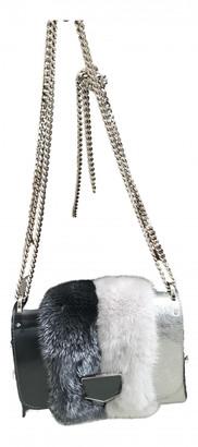 Jimmy Choo Lockett Metallic Leather Handbags