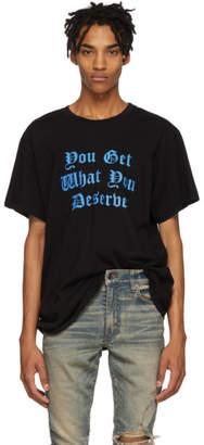 Amiri Black Deserve T-Shirt