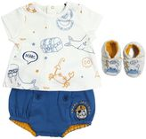 Little Marc Jacobs Jersey T-Shirt, Diaper Cover & Shoes