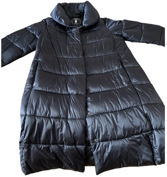 Save The Duck Black Synthetic Coats