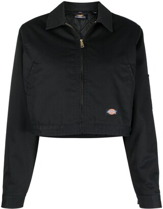 Dickies Construct Logo Patch Cropped Jacket