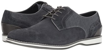 Kenneth Cole Reaction Weiser Lace-Up B (Navy Suede) Men's Plain Toe Shoes