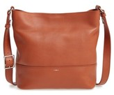 Shinola Small Relaxed Leather Hobo Bag - Brown