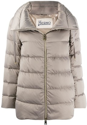 Herno High-Neck Puffer Jacket