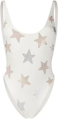 Stella McCartney Star embellished swimsuit