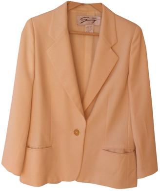 Genny Ecru Wool Jacket for Women Vintage