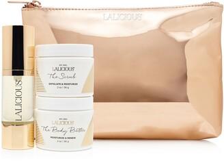 LaLicious Exfoliate, Hydrate & Shine Travel Set