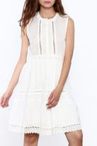 d.RA Chalk White Dress