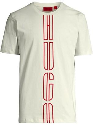 HUGO BOSS Darlon Vertical Logo-Tape T-Shirt
