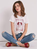 Lucky Brand Heart Matchbox Ruched Back Tee