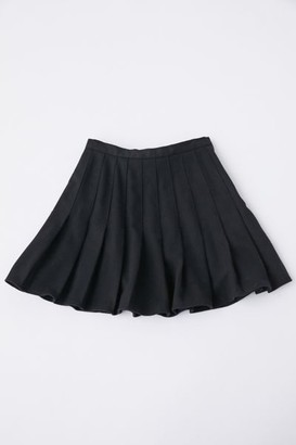 Urban Renewal Vintage Recycled Pleated Mini Skirt