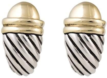 David Yurman Cable Shrimp Earrings