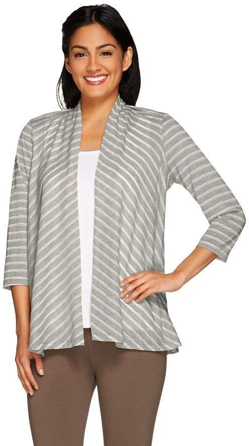 4484dd8e9f Heather Knit Cardigan Sweater - ShopStyle