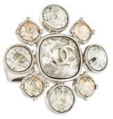 Chanel CC Crystal Ring