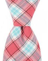 Roundtree & Yorke Trademark Plaid Slim Tie
