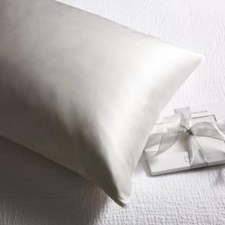 The White Company Silk Beauty Pillowcase For Hair & Skin, Chalk, Super King