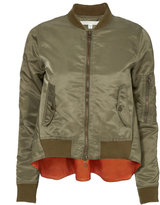 Veronica Beard Hampton Flight Jacket