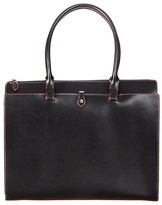 Lodis 'Audrey Collection - Jessica' Leather Tote - Black
