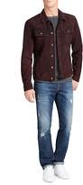 William Rast Dayton Suede Trucker Jacket