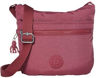 Kipling Arto Crossbody Bag (Fig Purple) Handbags