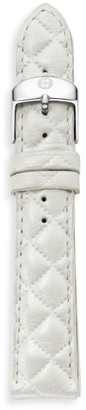 Michele Urban Quilted Leather Watch Strap/16MM