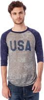 Alternative Big League Burnout Baseball T-Shirt
