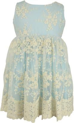 Popatu Lace Overlay Dress