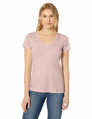 Velvet by Graham & Spencer Women's Lilith Cotton slub tee