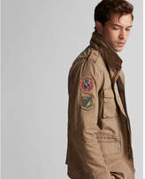 Express garment dyed four pocket jacket