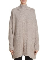 French Connection Ora Oversize Cable-Knit Detail Sweater