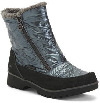 Pull On Side Zip Storm Boots