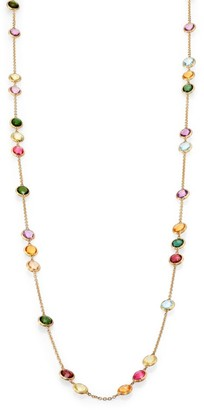 Marco Bicego Mini Jaipur Semi-Precious Multi-Stone Long Station Necklace