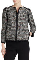 Lafayette 148 New York Tweed Blazer