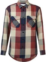 Julien David flap pocket shirt - men - Cotton - S