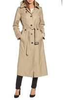 London Fog Women's Long Trench Coat