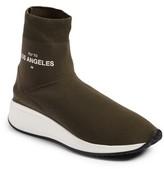 Joshua Sanders Women's Fly To High Top Sock Sneaker