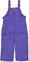 London Fog Purple Bib Pants - Toddler & Girls