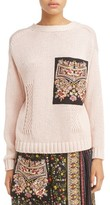 N°21 Women's N?21 Embroidered Pocket Sweater