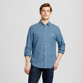Merona Men's Long Sleeve Check Button Down Shirt