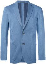 Corneliani patch pocket blazer - men - Cotton/Cupro/Viscose - 50
