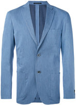 Corneliani patch pocket blazer - men - Cotton/Cupro/Viscose - 52