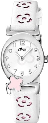Lotus Girls Analogue Quartz Watch with Leather Strap 15949/2