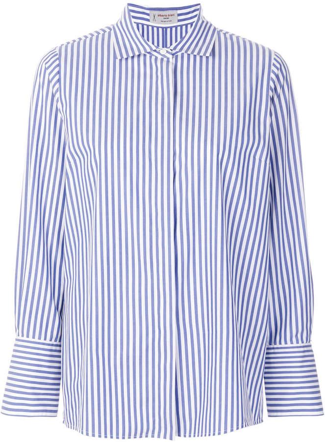 Alberto Biani striped shirt