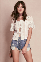 For Love & Lemons For Love and Lemons Hayley Tie Top