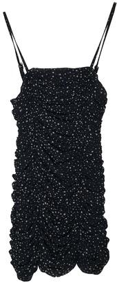 Religion Black Silk Dress for Women