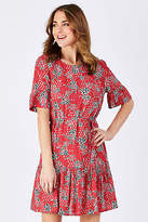 Jag NEW Womens Short Dresses Nomad Ruffle Dress NomadPrint
