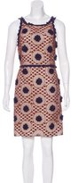 Tory Burch Crochet Mini Dress