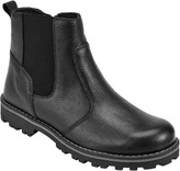 John Lewis & Partners Children's Leather Chelsea Boots, Black