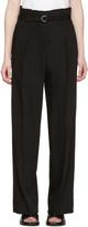 3.1 Phillip Lim Black Paper Bag Waist Trousers