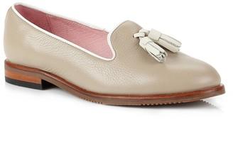 Its Got Soul Helena Taupe Slipper Shoe